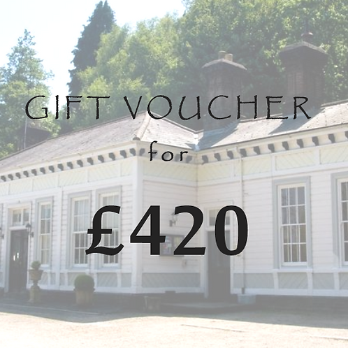£420 Gift Voucher for The Old Station