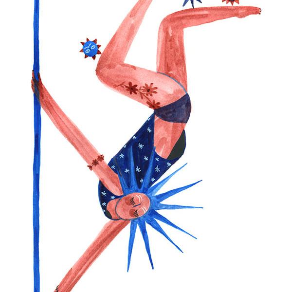 La danseuse aux soleils / The sun dancer