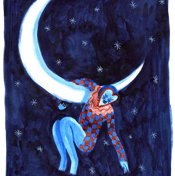 La danseuse de la lune / The moon dancer