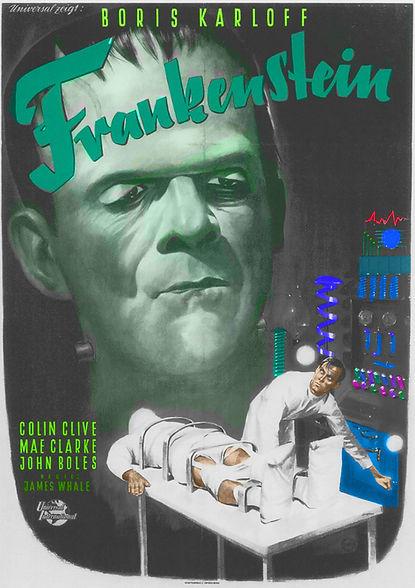 Colorizing Clementine Capriles - FRANKEN