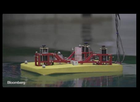 BLOOMBERG VIDEO FEATURES OSCILLA POWER