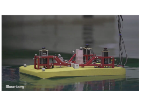 BLOOMBERG VIDEO FEATURES OSCILLA POWER