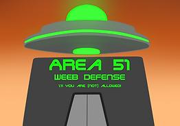 Area 51 Weeb Defense Promo Image