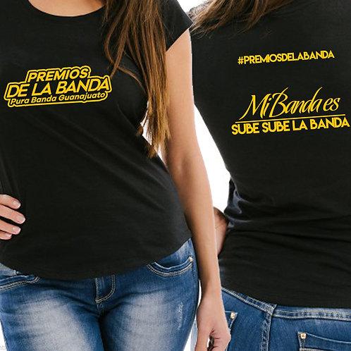 Camiseta Premios de la Banda (mujer)