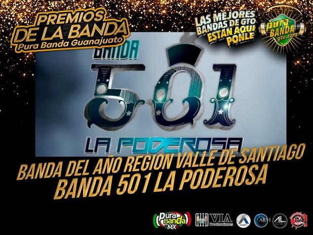 BANDA 501 LA PODEROSA