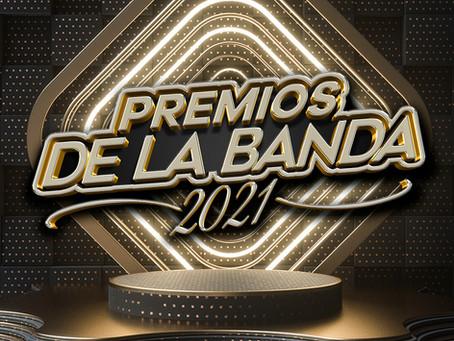 Los Artistas que estarán en el Escenario de Premios de la Banda
