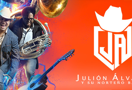 Al estilo de los AVENGERS Julión Álvarez promueve su proximo concierto en el Auditorio Telmex