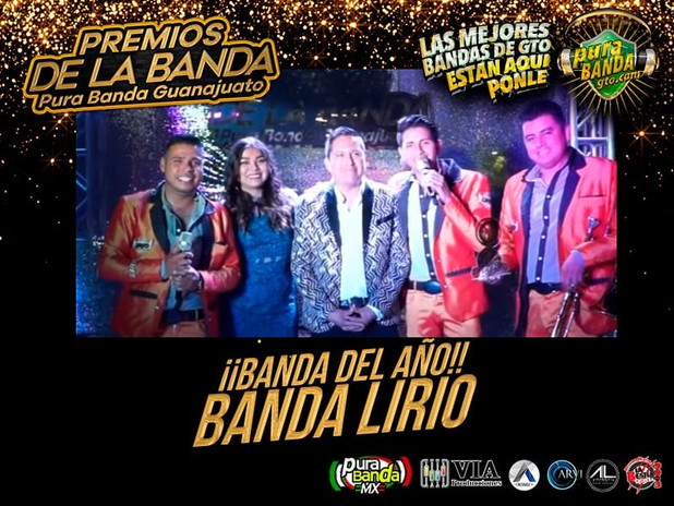 BANDA DEL AÑO - BANDA LIRIO