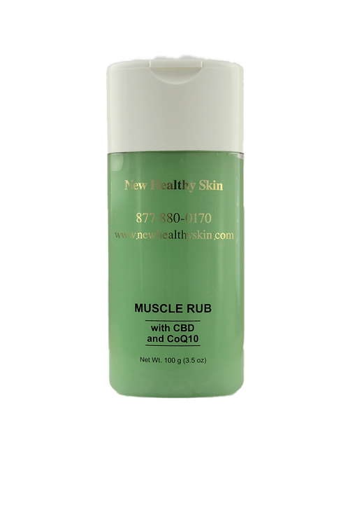 "Muscle Rub w/ CBD ""November Special!"""
