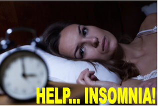 "HELP FOR INSOMNIA!  ARE YOU ONE OF THE ""WALKING TIRED?"""