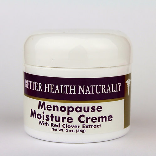 Menopause Moisture Treatment Creme with Red Clover