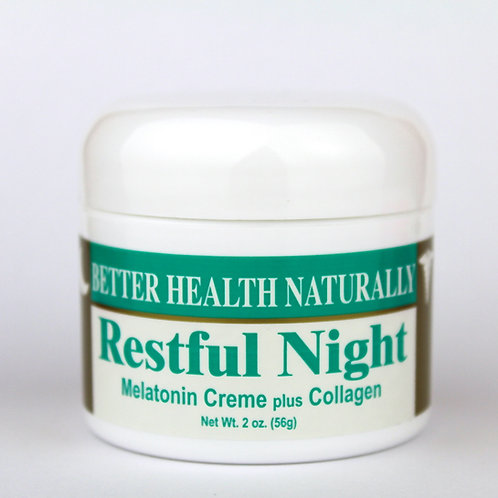 "Restful Night Melatonin with Collagen ""April Specials!"""