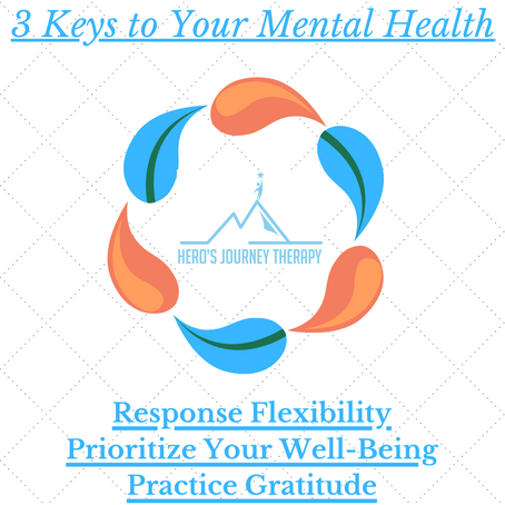 3 Keys to Your Mental Health