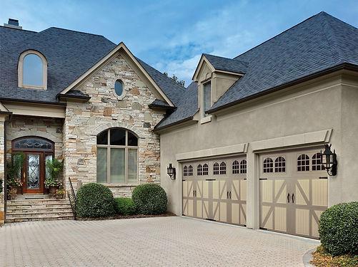 Two-toned Garage Door Suffolk