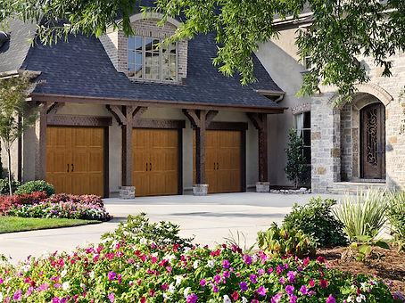 Faux Wood Garage Doors in Norfolk, VA