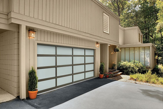 Glass Garage Door in Williamsburg, VA