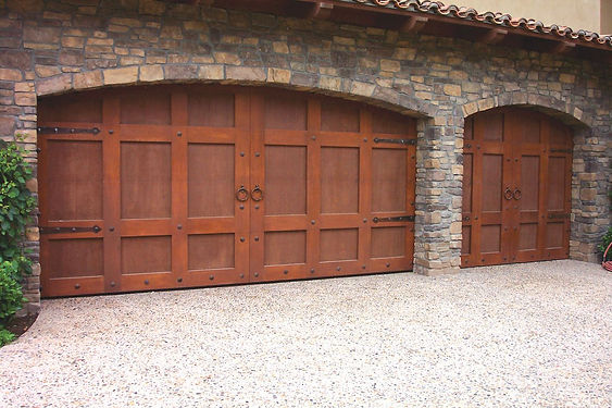 Wood Garage Door Virginia Beach