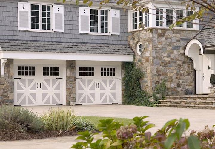 Two-toned Amarr Garage Doors