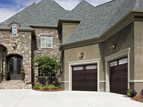 Faux Wood Garage Doors in Suffolk, VA