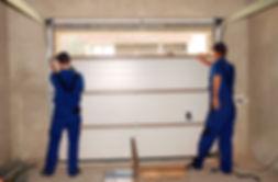 Garage Door Panel Repair in Newport News