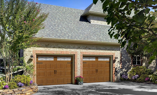 Faux Wood Garage Doors in Virginia