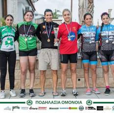 Πρωταθλήτριες Ποδηλασίας