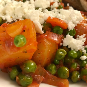 greek pea-&-potato stew ('arakas')