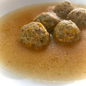 greek meatball soup ('giouverlakia/youverlakia')