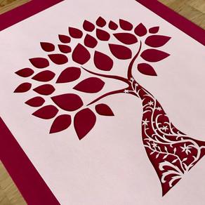 Papercut | Spring Tyde | The Dryad