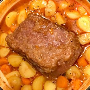 roast beef in beer sauce