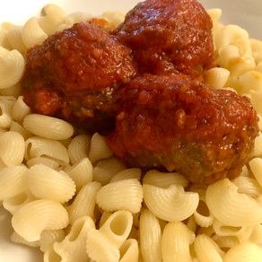 "greek meatballs (""Soutzoukakia"")"
