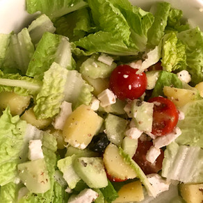 greek-polish salad