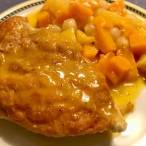 pumpkin chicken casserole