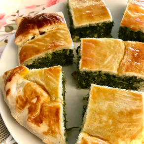 "greek spinach pie (""Spanakopita"")"