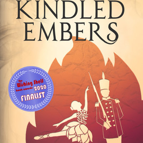 Kindled Embers | Wishing Shelf Book Award FINALIST!