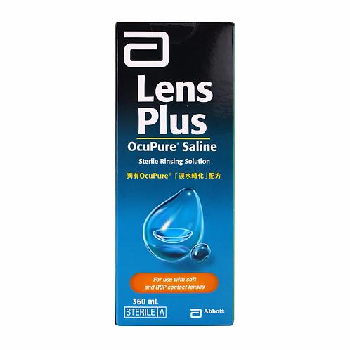 Lens Plus OcuPure™ 生理鹽水 (360ml)