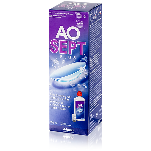 AO SEPT Plus 隱形眼鏡護理雙氧水護理系統 (360ml)