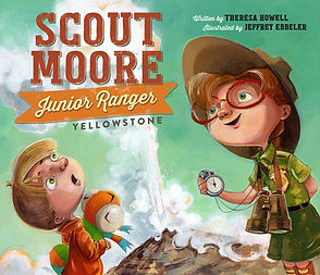 Scout Moore Junior Ranger - Yellowstone.