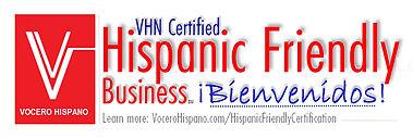 VHN - Hispanic Friendly_Certification 3.