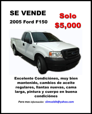 2005 F150 For Sale - 1-4 Page AD.jpg