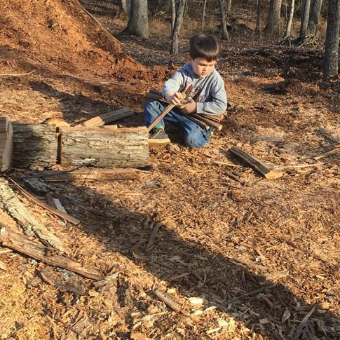 Little woodsman