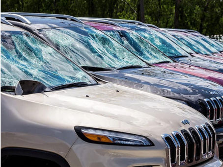 WHY SOLAR CANOPIES ARE THE SMART SOLUTION TO PROTECTING CARS & TRUCKS FROM COSTLY HAIL DAMAGE