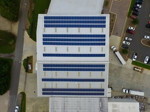 RENEWVIA ENERGY ELECTRIFIES THE BEER WHOLESALERS INDUSTRY WITH A SOLAR ARRAY