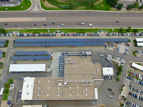 RENEWVIA DELIVERS NEW SOLAR CANOPY SYSTEM TO KUNI HONDA IN CENTENTIAL, COLORADO, DRIVING COST SAVING