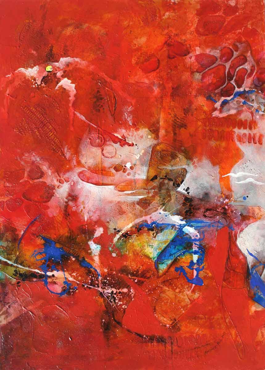 Rojo Crepúsculo III (SOLD)