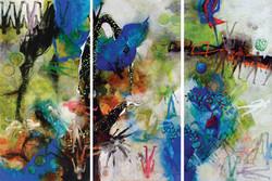 Una Nueva Esperanza I to III (Triptych)