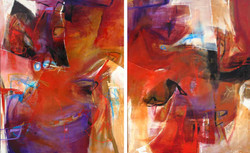 Reinventados I and II-Diptych (SOLD)