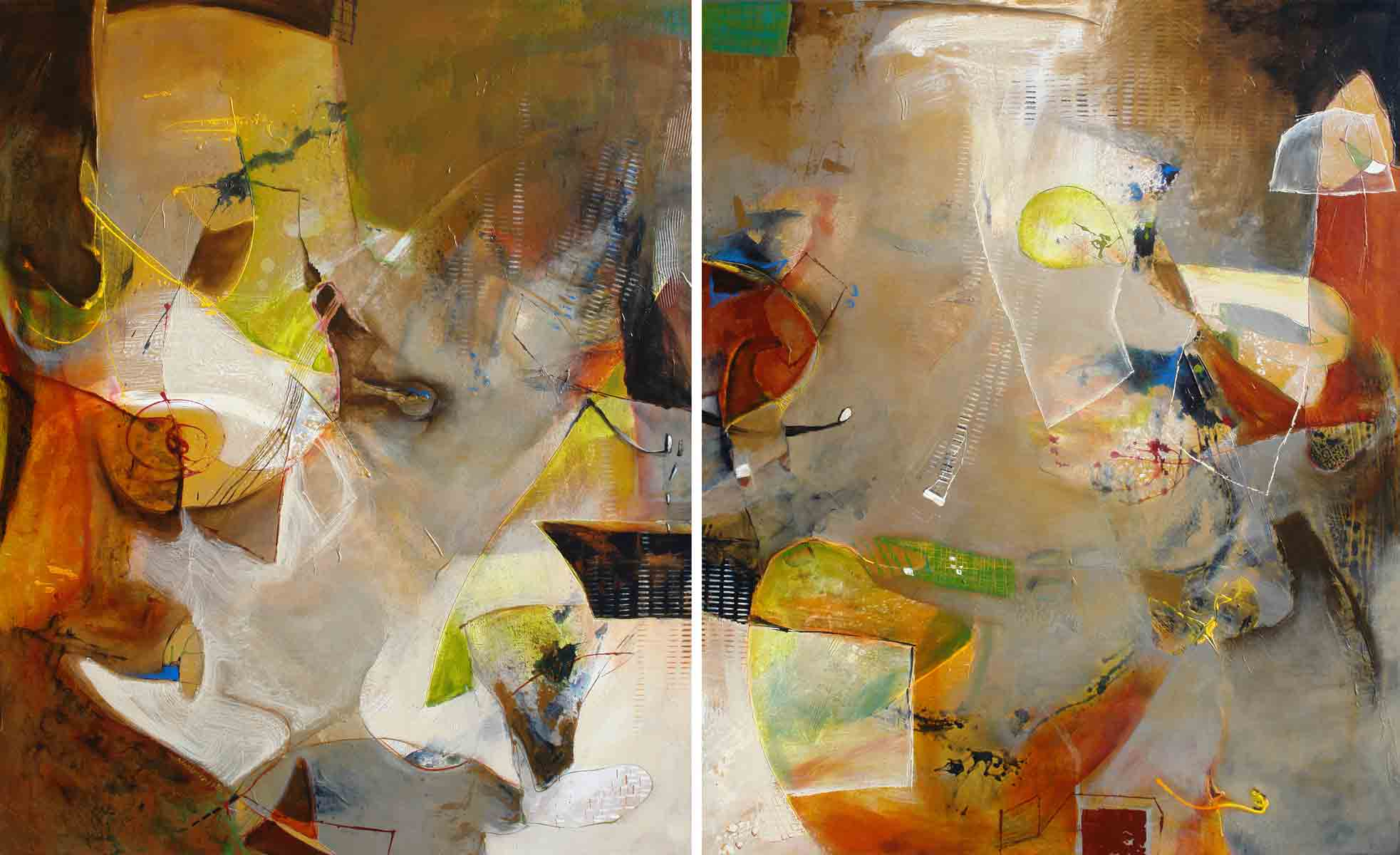 Picachos I & II-Diptych (SOLD)