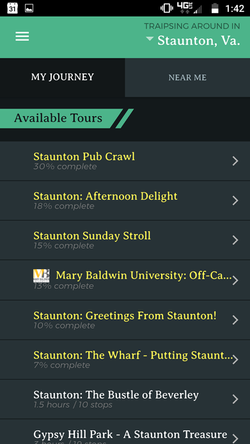 List of Tours