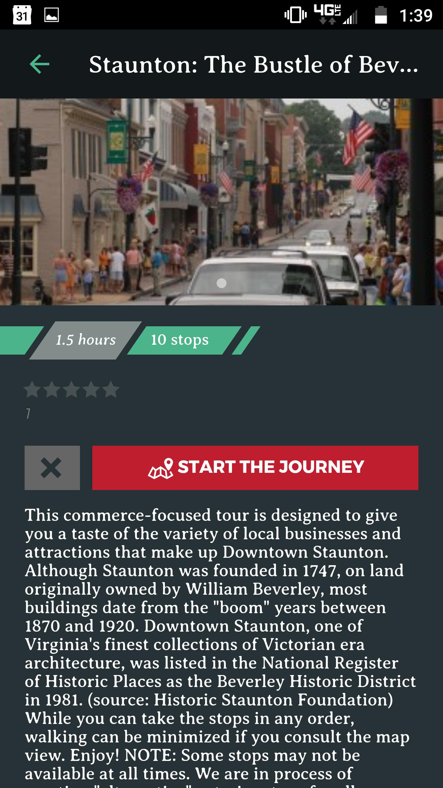 Tour Description
